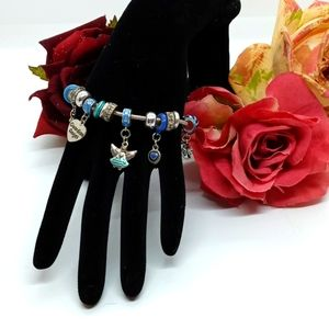 New! Guardian Angel charm bracelet